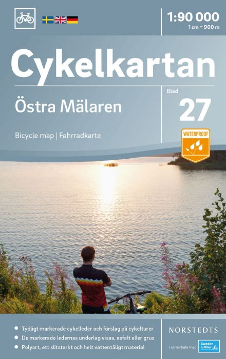 Sweden Cycling Map 27 - Mälaren East